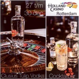 Dutch Tulip Vodka cocktailbar bij Holland Casino Rotterdam